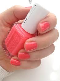 summer tip coral pink nails xo amys
