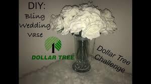 Challenge Vase D I Y Bling Wedding Vase Dollar Tree Challenge