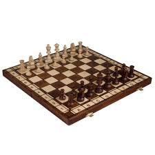 Chess Board Amazon Amazon Com Jowisz Decorative Folding Chess Set With 16 Inch Board