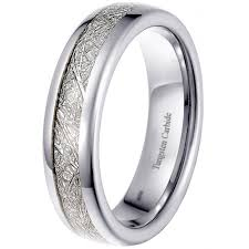 tungsten women rings images Tungsten meteorite 6mm unisex engagement wedding eternity band jpg