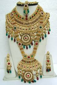 beautiful indian jewellery set for wedding2 indian jewelry