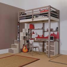 lit mezzanine avec bureau intégré nouveau de lit mezzanine avec bureau integre discount amazing