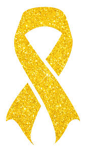 gold ribbon wear your gold ribbon this september