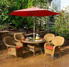 Patio Set Umbrella Outdoor Dining Table With Trends And Awesome Patio Sets Umbrella