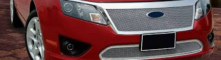 2010 ford fusion custom 2010 ford fusion custom grilles billet mesh led chrome black