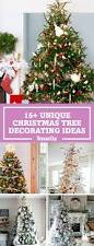 Pretty Christmas Trees Decorated With Presents 25 Unique Christmas Tree Decoration Ideas Pictures Of Decorated