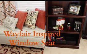 inspiration how to create a wayfair window seat youtube inspiration how to create a wayfair window seat