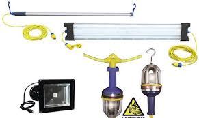 temporary job site lighting cusick electrical sales inc manufacturers