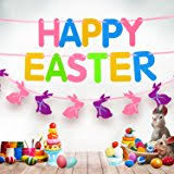 happy easter decorations happy easter bunny door cover and banner decorations