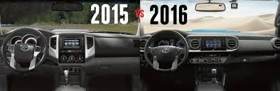 Toyota Tundra Interior Accessories Differences Between 2015 And 2016 Toyota Tacoma