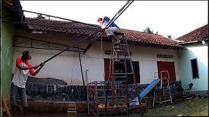 membuat kanopi canopy atap zinclaume atau spandek galvalum full