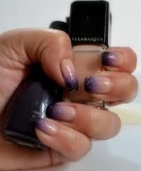 manicure ombre gradient purple u2013 llewsoba
