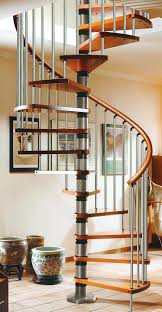 Wooden Spiral Stairs Design Marvelous Gamia Silver Iron And Wooden Spiral Staircase Design
