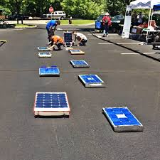 toyota in solar rollers takes show to the big city on saturday