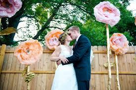 Outdoor Backyard Wedding Jenny And Jon Minneapolis Backyard Wedding Modern Minneapolis