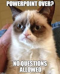 Powerpoint Meme - grumpy cat meme imgflip