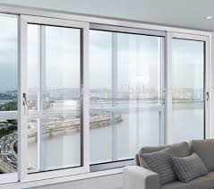 Double Glass Door by China Manufacturer High Quality Large Sliding Glass Door With
