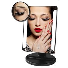 Makeup Vanity With Lights Amazon Com Makeup Mirror With 36 Led Lights Dimmable Touch