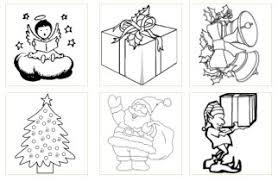 Dessin de Noël à colorier