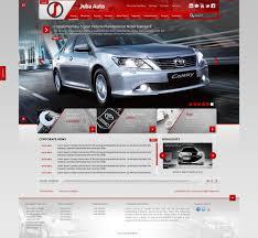 toyota company website juba auto toyota south sudan graphix design best web design