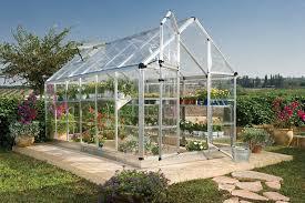 Palram Lean To Greenhouse Amazon Com Palram Snap U0026 Grow 6 U0027 Series Hobby Greenhouse 6 X
