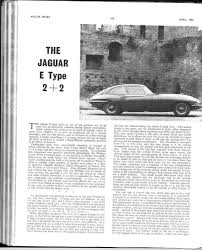 jaguar e type 2 2 with manual gearbox motor sport magazine archive