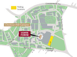 Boston University Campus Map by Boston College Flynn Fund
