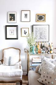 Best Eclectic Gallery Wall Ideas Images On Pinterest Wall - Gold color schemes living room