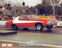 What Was The Starsky And Hutch Car 1976 Ford Torino Starsky And Hutch 1 4 Mile Drag Racing Timeslip