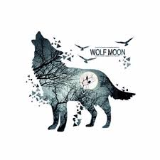 wolf moon sticker promotion shop for promotional wolf moon sticker
