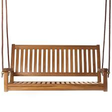 Wooden Patio Bench by Shop Porch Swings U0026 Gliders At Lowes Com