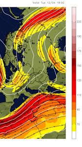Jet Stream Forecast Map 14 Day Weather Forecast West Europe U0026 North Africa U2013 Jetstream