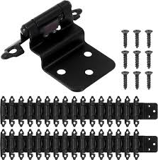 hinges for inset kitchen cabinet doors 24 packs inset kitchen cabinet door hinges frame matte black 3 8inch self closing cupboard hinges