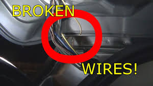 2012 dodge journey rear hatch wiring broken youtube