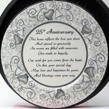 personalized anniversary plate buy 25th anniversary signature plate welcome home plates from a