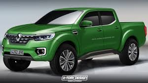 renault 4 2015 will production renault alaskan pickup truck look like this