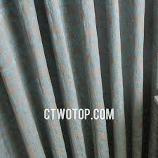 Gray Burlap Curtains Unique Leaf Patterned Brown And Baby Blue Bedroom Burlap Curtains