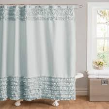 Ruffled Shower Curtains Buy Ruffle Shower Curtain From Bed Bath Beyond