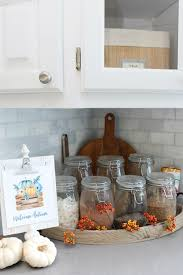 mason jar home decor ideas fall home decor ideas fall home tours clean and scentsible