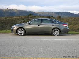 lexus or toyota avalon 2013 toyota avalon review and road test with infotainment review