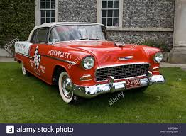 1955 chevrolet bel air convertible one time pace car at the stock