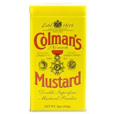 colemans mustard mustard powder colmans 454g infusions