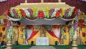 beautiful indian wedding stage flower decoration iawa
