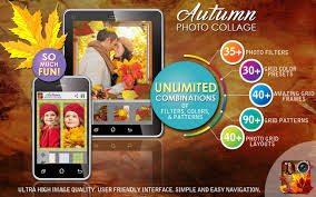 autumn photo collage editor android apps on google play