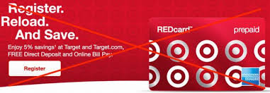 free debit card you can no longer fund target prepaid redcard with debit cards
