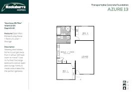 The Azure Floor Plan by Transportable Homes Adelaide U0026 Hills Murray Bridge Mount