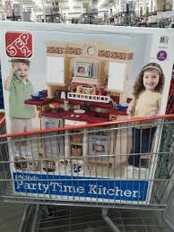 Step Two Play Kitchen by Costco Costco Children U0027s Step 2 Party Time Play Kitchen W
