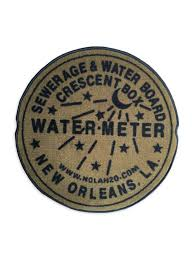 new orleans water meter indoor new orleans water meter rug gold fleurty girl