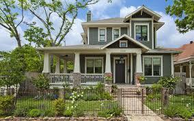 wrap around front porch craftsman front porch designs exterior craftsman with garden