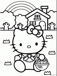 25 ideas kitty coloring